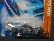 HW HOT WHEELS 2007 TRACK STARS #5 FLATHEAD FURY HOTWHEELS CHROME VHTF RARE