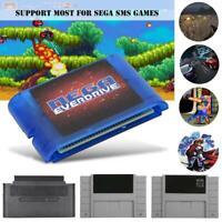 4K OSV3.6 MD Game Cartridge Card for Sega Megadrive Genesis Mega Drive SMS Card