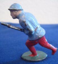 Soldat ancien plomb creux 14 / 18 Baïonnette au fusil