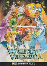 1995 DATA EAST WORLD CUP VOLLEYBALL 95 JP VIDEO FLYER