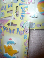 CUTE EASTER SCATTER PINS THREE SETS