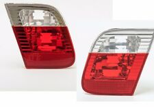 DEPO Red/Clear Inner Tail Lights PAIR fits 2002-2005 BMW 3-Series E46 4-DOOR