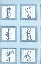 "Moda FABRIC Quilt Panel ~ WINDSOR LANE ~  Bunny Hill Designs  24""X 45"" Blue"