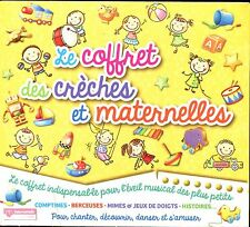 LE COFFRET DES CRECHES ET MATERNELLES - 5 CD COMPILATION NEUF ET SOUS CELLO