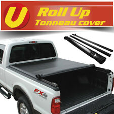 Fits 1999-2016 FORD F250/F350 Super Duty 8FT Bed Vinyl Roll Up Tonneau Cover