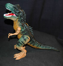 Large 14 Inch Hard Plastic Dinosaur Figurine w/ Moving Legs, Claws & Mouth