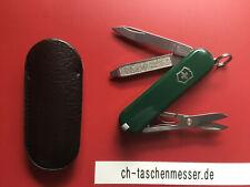 Victorinox Classic SD grün kleines schweizer Taschenmesser mit Schere 0.6223.4