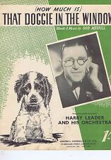 HARRY LEADERHow much is that doggie in the windowSheet Music