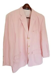 "Mens POLO RALPH LAUREN linen blazer/jacket Size 44""/large. Immaculate RRP£495."