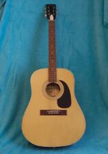 1973  Harmony D style guitar  Photo finish  spruce and rosewood colors G Cond.