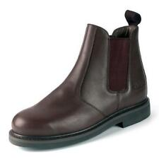 Walking, Hiking, Trail 100% Leather Slip On Boots for Men