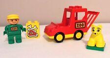 VINTAGE Lego Duplo Zoo Bus Set 2661 Animal Transporter Lot COMPLETE