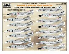 AOA decals 1/48 SPOOKS FROM THE BEACH USMC F-4B/F-4J Phantoms in the Vietnam War