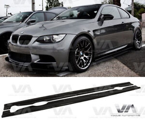BMW 3 SERIES E92 E93 M3 PERFORMANCE SIDE SKIRTS EXTENSION BLADES