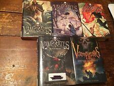 Vampirates Justin Somper (Five Volume Hardcover Set)