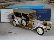 Franklin Mint 1911 Rolls-Royce Tourer Silver Ghost 1:24 Scale Diecast Metal Car