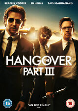 The Hangover Part III [2013] (DVD) Bradley Cooper, Zach Galifianakis, Ed Helms