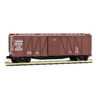 CN 40' Outside Braced Boxcar Single Door Micro-Trains MTL #028 00 240 N-Scale