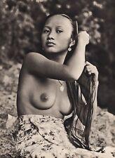 1940's Original BORNEO FEMALE NUDE Hair Art Sarawak Iban Photo Gravure K.F. WONG