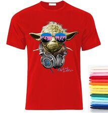 Yoda star wars DJ party  Herren T-Shirt Lustig Fan Gift size S-XXL