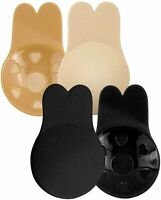 Lift Nipplecover,Sticky Bra Push Up,Invisible Bra for, Beige,black, Size X-Large