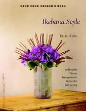 NEW - Ikebana Style: 20 Portable Flower Arrangements Perfect for Gift-Giving