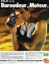 Publicité advertising 1985 Appareil photo Fuji HD-M