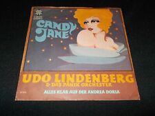 Vinyl Single: Udo Lindenberg & Das Panik Orchester - Candy Jane - Andrea Doria