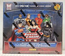 JUSTICE LEAGUE METAX 2017 24-PACK BOOSTER BOX - Panini - NEW