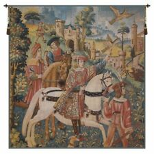 Chasse Flanders Belgian Tapestry Wall Hanging
