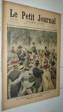 PETIT JOURNAL 31-07 1898 AFFAIRE DREYFUS ZOLA / ACCIDENT CORNICHE / CHASSE CHIEN