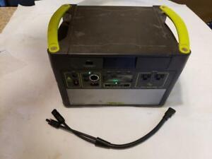 Goal Zero Yeti 1400 Lithium Solar Portable Power Station, Power Bank, Recharger