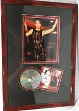 """Framed Shania Twain Authentic Signed Autographed 8x10 And CD """"Come On Over"""" COA"""