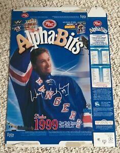 Wayne Gretzky Cereal Box