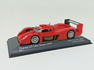 MINICHAMPS 1/43 - KYOSHO TOYOTA GT ONE STREET 1999 Mini Car Fair 2005 433991603