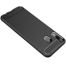 TUFF LUV TPU Protective Shockproof Back Cover Case for Samsung Galaxy M20 -Black