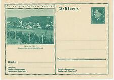 DT.REICH Friedrich Ebert 6 Pf 1932 Bildpost-GA GERNRODE (Harz – Quedlinburg)