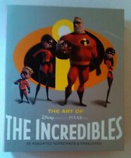 20 Blank Note Cards & Envelopes - Disney Pixar Incredibles Chronicle Books