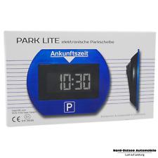 Parklite blau DIE elektronische Parkscheibe mit TÜV Zulassung