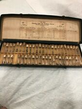 ANTIQUE ELGIN & WALTHAM WATCH MOVEMENT SLEEVES ASSORTMENT No. 3212