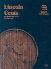 Official Whitman Coin Folder: Lincoln Cent Collection: 1909-1940 : Number One...