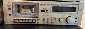 RARE Technics Rs-M33G Metal Tape-Compatible Cassette Deck With 2-Color Fl