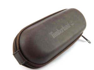 TIMBERLAND -  Medium Sized Sunglasses Glasses Zip Case - Brown