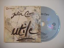 JULIEN CLERC : UTILE [ CD SINGLE PORT GRATUIT ]