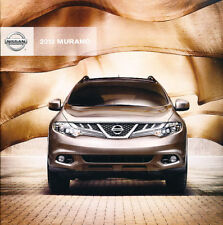 2012 Nissan Murano and CrossCabriolet 38-page Car Sales Brochure Catalog
