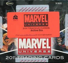 Marvel Universe 2011 Empty Archive Box (No Cards)