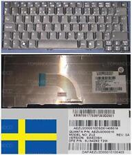 Tastiera Qwertz Svedese ACER Ferrari 1100 TM6252 ZU2 9J.N4282.T2W KB.INT00.177