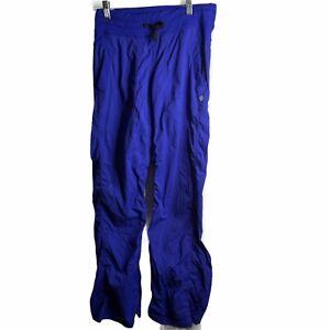 Lululemon dance studio pants Woman's size 4 purple Striped