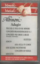 MOMENTI MUSICALI 7 - Albinoni adagio -  MC MUSICASSETTA SIGILLATA SEALED