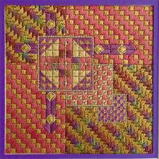 AUTUMN ARROWS Basic Needlepoint Kit by Terry Dryden Designs